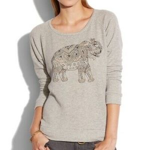 Lucky Brand Lotus Women's Sweatshirt Sweater Gray
